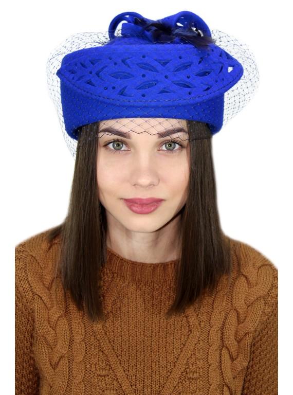 "Шляпка-таблетка ""Леолсия"""